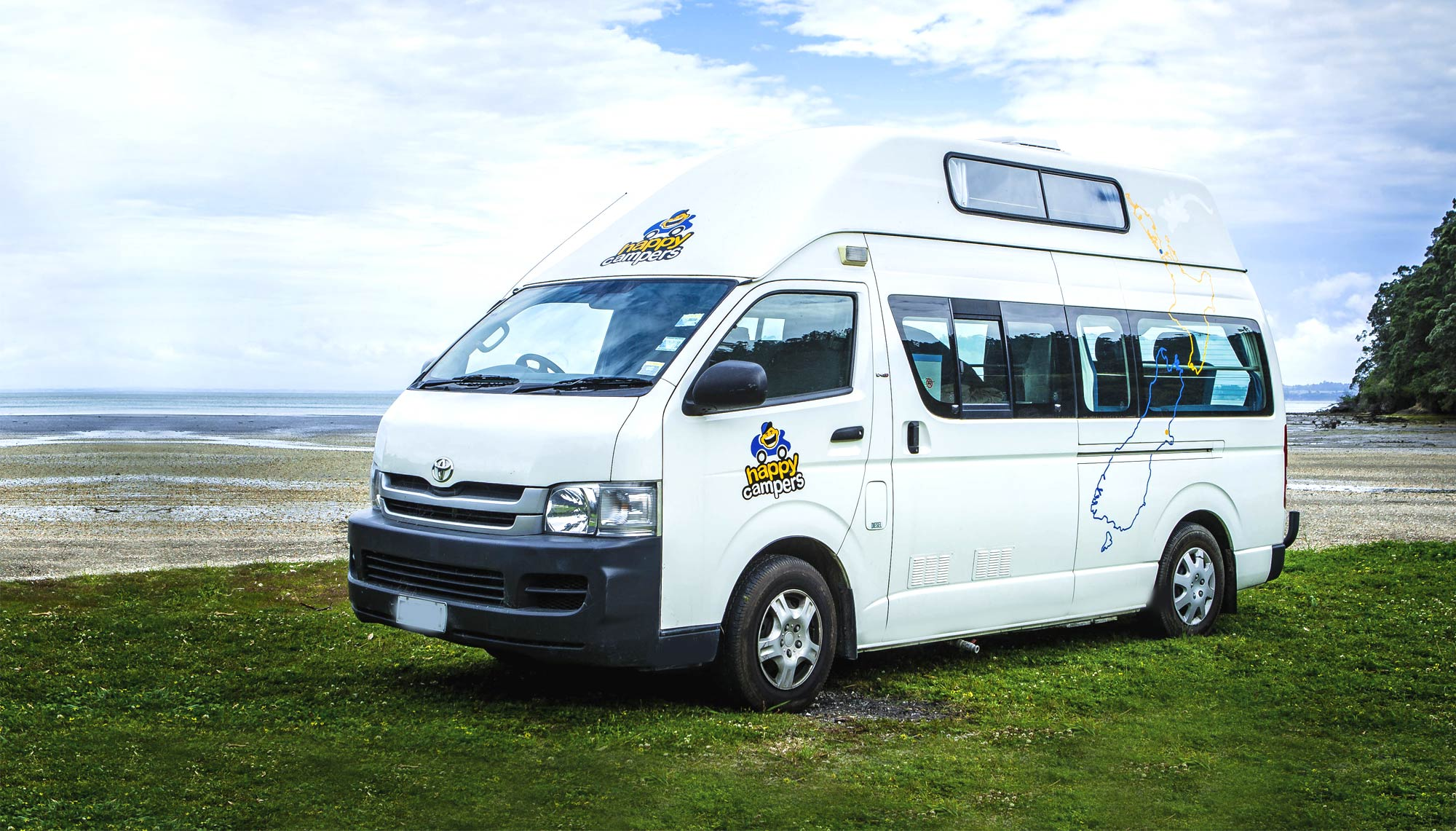 db6001f601e8b3 Cheap Campervan Hire NZ  Happy Campers