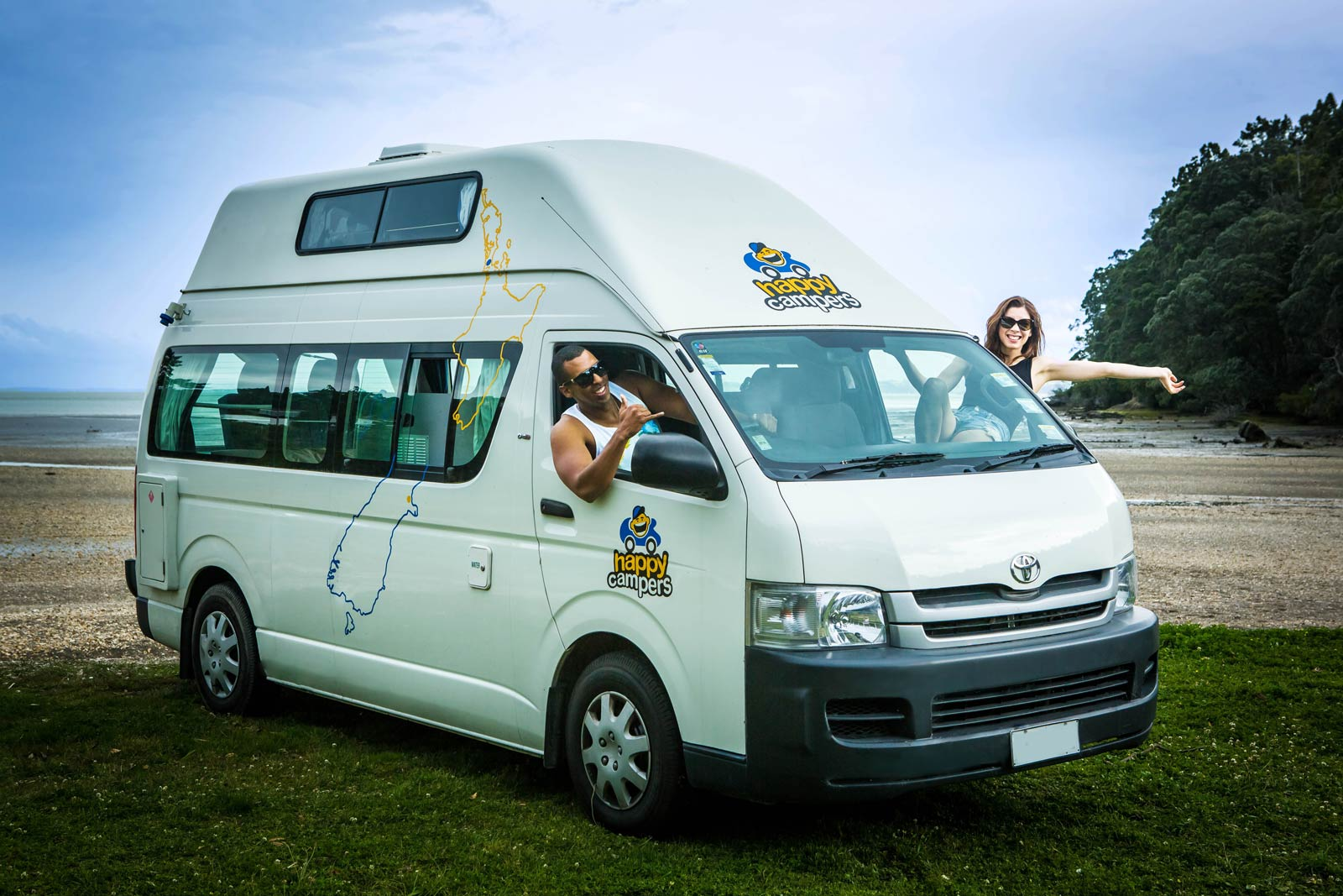 Cheap Campervan Hire Happy Campers