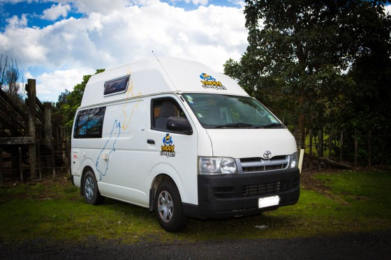 Cheap Campervan Hire NZ: Happy Campers